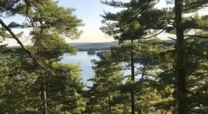 Escape The Entire World On The Secluded Mountain Loop Trail In Maine