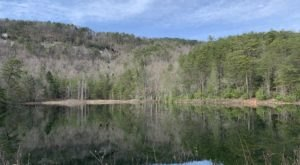 Hike 1.6 Miles To Lake Wattacoo On This Hidden Mountain Trail In South Carolina