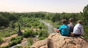 The Mountain Top Views From Narrows Trail In Oklahoma Are One Of A Kind