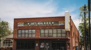The Plates Are Piled High With Ribs And Brisket At The Delicious Joe's Real BBQ In Arizona