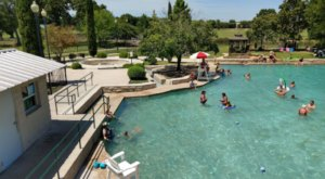 The Oldest Spring-Fed Pool In Texas Deserves A Spot On Your Summer Bucket List