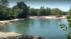 Some Of The Cleanest And Clearest Water Can Be Found At Oklahoma's Blue Hole Park