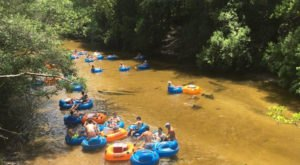 5 Lazy River Tubing Trips In Alabama To Start Planning Now