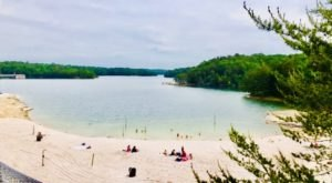 Sandy Shores And Clear Water Are Waiting For Us At Laurel River Lake In Kentucky