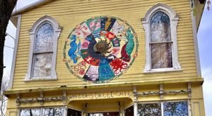 Water Street Cafe In Maryland Is Delightfully Quirky, Inside And Out