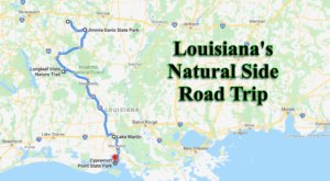 This Weekend Road Trip Will Lead You To Some Of Louisiana's Most Beautiful Natural Scenery