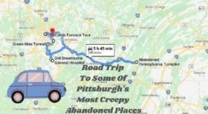 We Dare You To Take This Road Trip To Some Of Pittsburgh's Most Creepy Abandoned Places