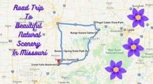 This Weekend Road Trip Will Lead You To Some Of Missouri's Most Beautiful Natural Scenery