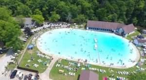 The Largest Outdoor Swimming Pool In Pennsylvania Can Be Found At Mountain Pines Campground