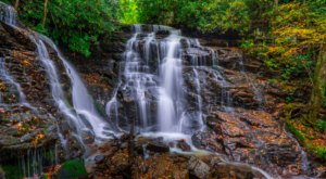 Soco Falls Is A Scenic Outdoor Spot In North Carolina That's A Nature Lover's Dream Come True