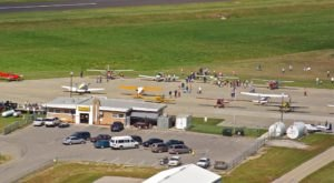 Watch Planes Land And Fill Up On Barbecue At Kansas's We B Smoking, A Favorite Spot Next To A Small Town Airport