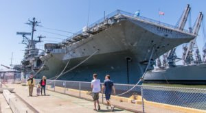 Explore A Famous Aircraft Carrier At The USS Hornet, A Museum Ship In Northern California