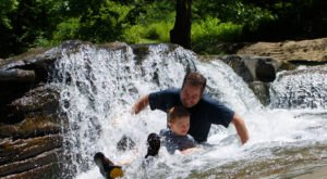 There's A Natural Waterslide Hidden At Turkey Creek Nature Preserve That Everyone Should Visit This Summer
