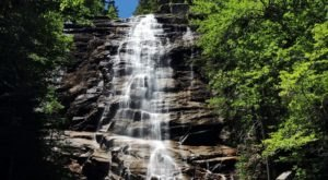 See The Tallest Waterfall In New Hampshire In The White Mountains
