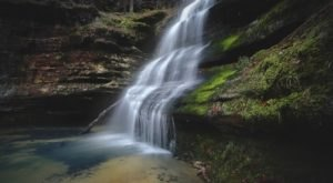 This Easy, One-Mile Trail Leads To Hickory Canyon Waterfall, One Of Missouri's Most Underrated Waterfalls