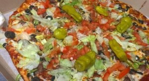 Take Pizza Night To New Levels With The Mexican Pizza At Bado's Pizza Grill In Pittsburgh