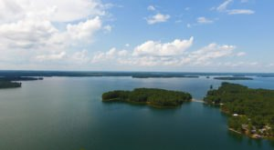 Some Of The Cleanest And Clearest Water Can Be Found At Alabama's Lake Martin