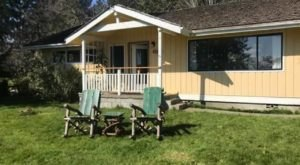 Sleep Inside An Old Ranger Station On Washington's Hood Canal