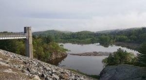 Enjoy A Leisurely Walk Around Thomaston Dam, A Peaceful Getaway In Connecticut