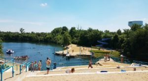 Visit Centennial Quarry, One Of Ohio's Most Underrated Springs And A Great Summer Destination