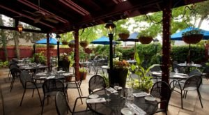 Dining On The Patio At Barcelona Restaurant And Bar In Ohio Is Like Having Dinner In A Secret Garden