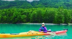 This Summer, Plan To Paddle Kenai Lake, A Gorgeous Turquoise Alaskan Oasis