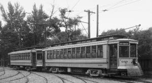 In The Early 1900s, Trolley Cars Rolled Through The Streets Of Salt Lake City, Utah