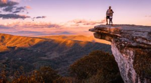 The Most-Photographed Lookout On The Appalachian Trail Is Right Here In Virginia
