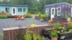 Spend The Weekend In This Colorful Tiny House On An Alaskan Mini Farm