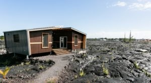 This Tiny House Tucked Away On A Hawaiian Lava Field Is The Ultimate Escape