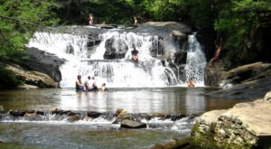 The Natural Swimming Hole At Dicks Creek Falls In Georgia Will Take You Back To The Good Ole Days
