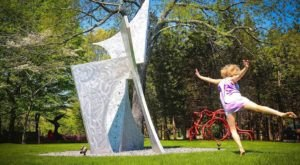 Enjoy A Peaceful Walk While Looking At Gorgeous Artwork At Studio 80 + Sculpture Grounds In Connecticut