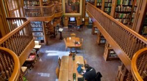 The Incredibly Beautiful St. Johnsbury Athenaeum In Vermont Is An Architecture Lover's Dream