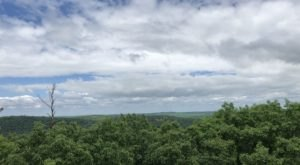 Climb 85 Feet To The Top Of Cook Forest Fire Tower In Pennsylvania And You Can See The Clarion River Valley