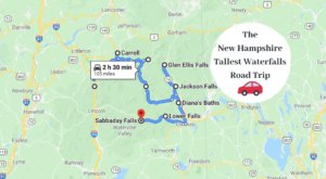 Spend The Day Exploring New Hampshire's Tallest Falls On This Wonderful Waterfall Road Trip
