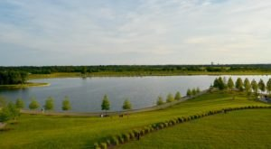 The Beautiful Shelby Farms Park In Memphis, Tennessee Is One Of The Largest Urban Parks In The Country