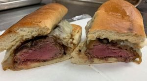 The Traveling Steak Sandwich From The Old Pink That You'll Want To Track Down In Buffalo