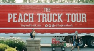 The 2020 Peach Truck Tour Will Bring The Most Mouthwatering Fruit Right To Kentuckians This Year