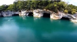 This Stunning Quarry Lake In West Virginia Is Off-Limits To The Public, But You Can Visit It By Drone
