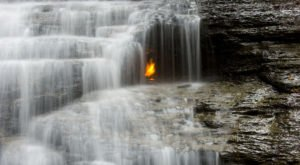 Eternal Flame Falls Trail Near Buffalo Leads To An Incredible Waterfall With Unparalleled Views