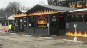 The Brick Oven Is Always Hot At 1000 Degree Wood-Fired Pizza In Indiana