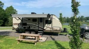 Get Back To The Great Outdoors With The Vintage Camping Experience At The Shawnee Forest Campground In Illinois