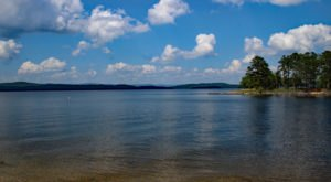 Some Of The Cleanest And Clearest Water Can Be Found At Arkansas' Lake Ouachita