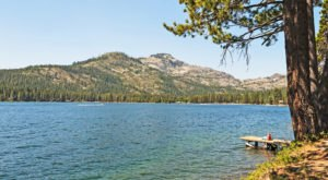 Some Of The Cleanest And Clearest Water Can Be Found At Northern California's Donner Lake