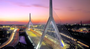 The Zakim Bridge Is The Most Unique Cable-Stayed Bridge In Massachusetts