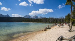 Some Of The Cleanest And Clearest Water Can Be Found At Idaho's Redfish Lake