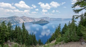 Some Of The Cleanest And Clearest Water Can Be Found At Oregon's Crater Lake