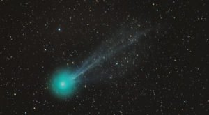 Look To The Night Sky And Catch The Beautiful Comet Swan Over Northern California, Completely Visible To The Naked Eye