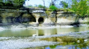 Few Hoosiers Have Explored Seven Pillars Nature Preserve, A Hidden Natural Wonder Along The Mississinewa River
