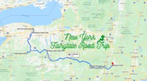 The Fairytale Road Trip That'll Lead You To Some Of New York's Most Magical Places